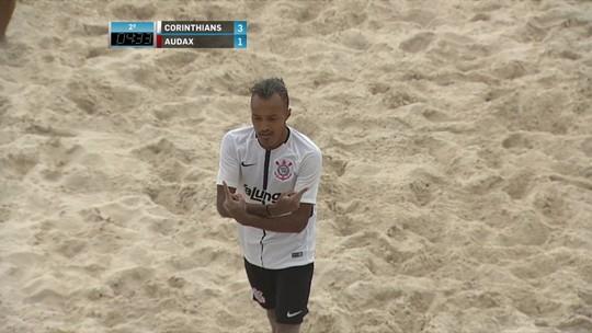 Em final dramática, Corinthians vence o Audax na prorrogação e é campeão paulista