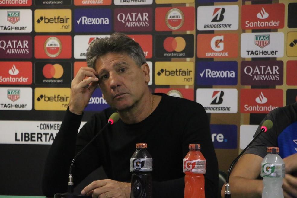 Renato exalta classificação gremista e Felipão diz que Palmeiras pagou caro por erros
