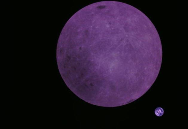 Nova foto mostra nova perspectiva sobre a Terra e a Lua (Foto: Reprodução/Twitter/@tammojan)