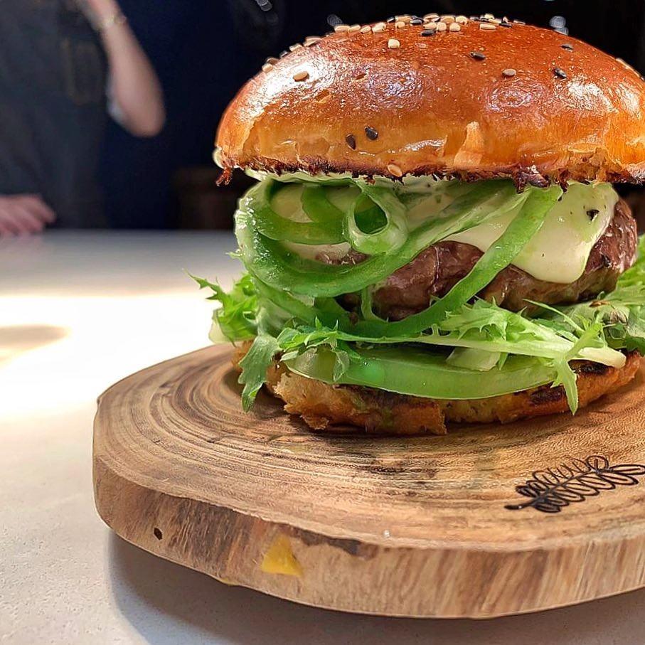 Burguer do Fat Cow (Foto: Reprodução Instagram)