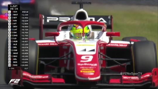Mick Schumacher vence o GP da Fórmula 2 da Hungria
