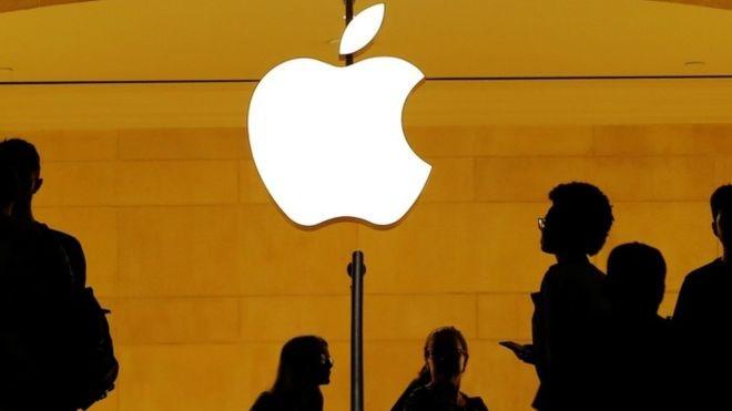 O valor alcançado pela Apple é equivalente a R$ 3,75 trilhões (Foto: Reuters via BBC)