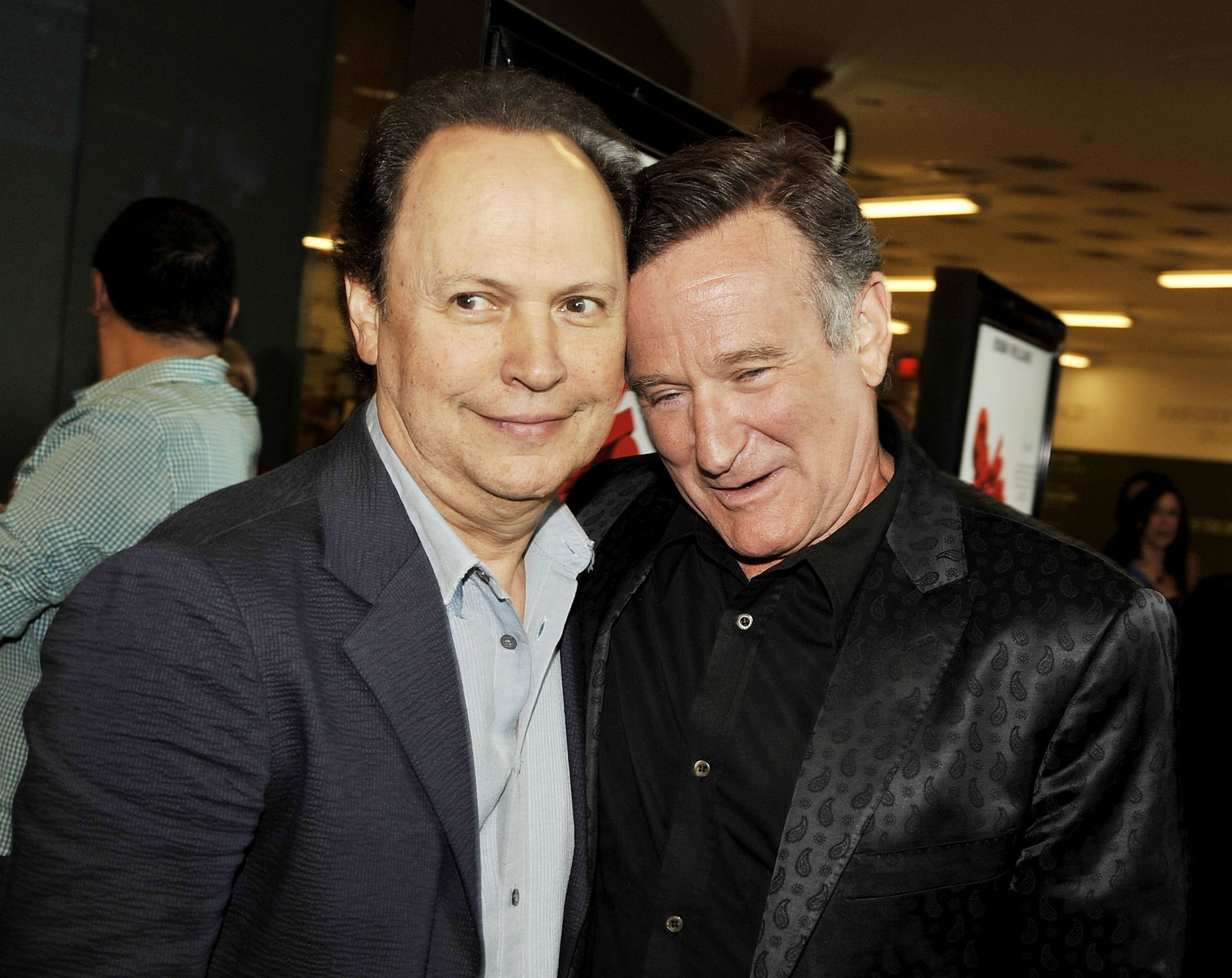Robin Williams e Billy Crystal. (Foto: Getty Images)