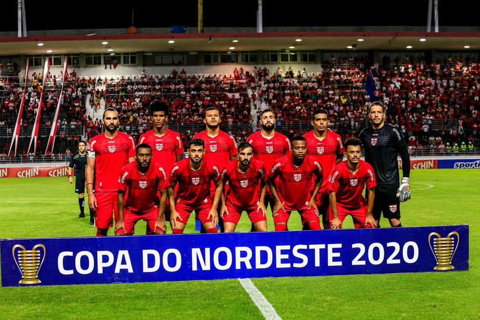 CRB ainda tem chance de classificação na Copa do Nordeste — Foto: Ailton Cruz/Gazeta de Alagoas