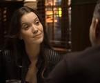 Na segunda-feira (24), Fabiana (Nathalia Dill) e Rock (Caio Castro) descobrirão o segredo de Agno (Malvino Salvador)   Reprodução