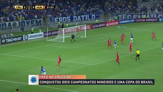 Por 4 a 0, Cruzeiro bate o Huracán pela Taça Libertadores e Fred se destaca em partida