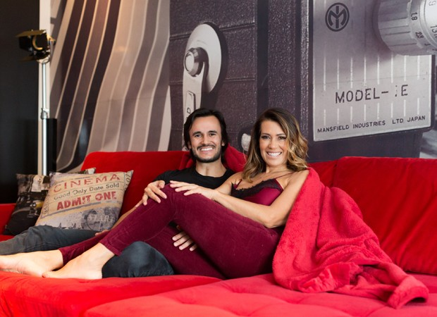 Solange e o namorado, Pyero Tavolazzi (Foto: Eduardo Saraiva/Quem Acontece)