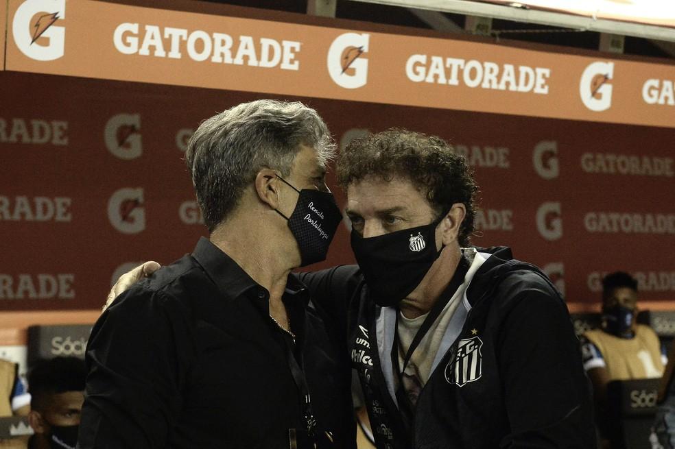 Renato foi superado por Cuca no duelo tático — Foto: Staff Images / CONMEBOL