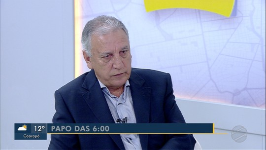 Luiz Rocha, diretor-presidente do Detran-MS é o entrevistado do Papo das 6