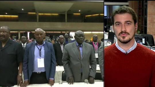 Presidente do Zimbábue não renuncia durante pronunciamento
