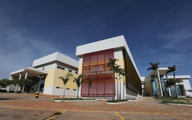 Hospital Municipal de Aparecida de Goiânia, Goiás — Foto: Cedoc/TV Anhanguera