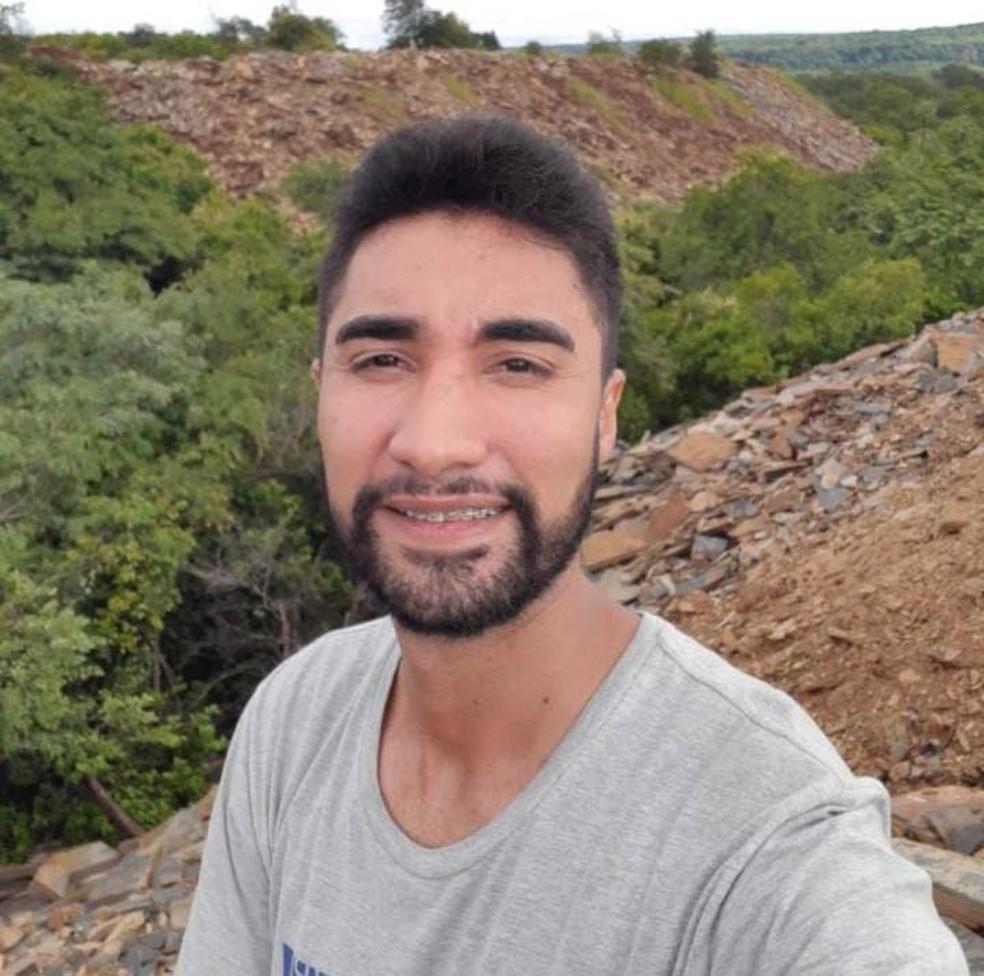 Mateus Paiva Silva, de 27 anos, vítima do acidente — Foto: Reprodução