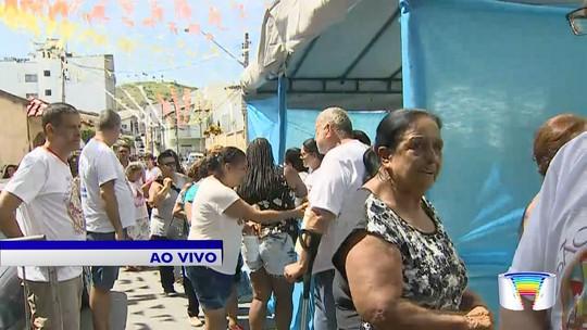 Aparecida celebra festa de São Benedito com distribuição de dez mil quilos de doce