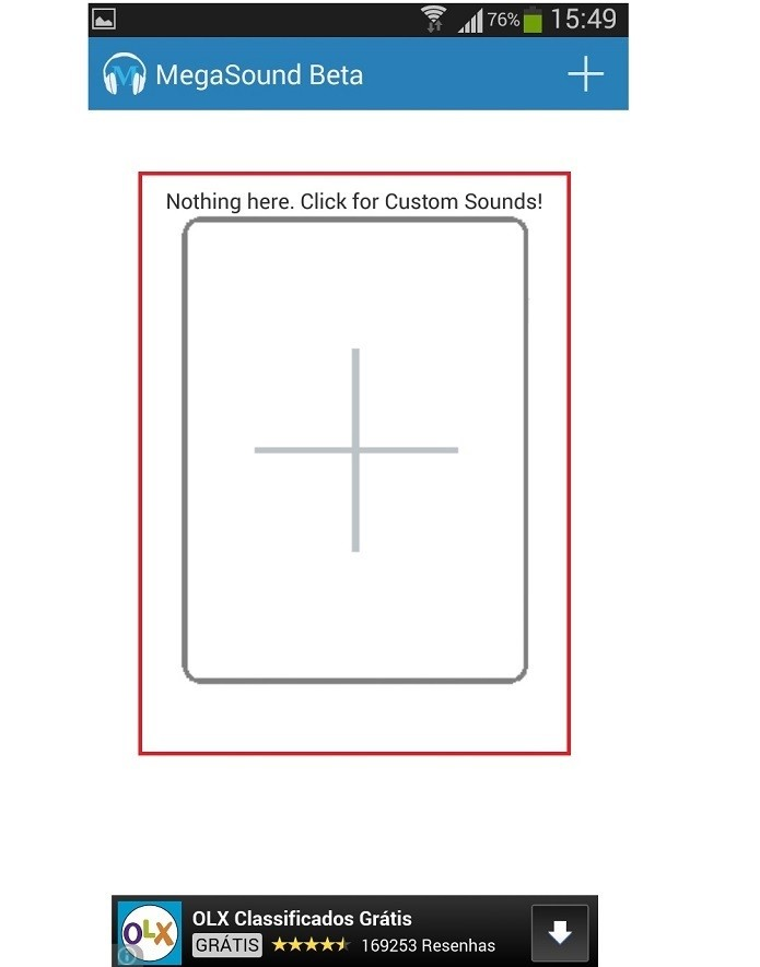 Clique no símbolo de + para adicionar programas (Reprodução/Taysa Coelho) (Foto: Clique no símbolo de + para adicionar programas (Reprodução/Taysa Coelho))