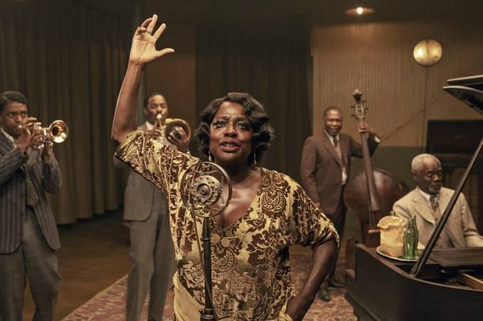 Viola Davis em A Voz Suprema do Blues (Foto: Divulgação/ Netflix )