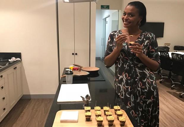 Walkíria Ribeiro nota silhueta mais fina após seguir novo método de alimentação (Foto: Divulgação)