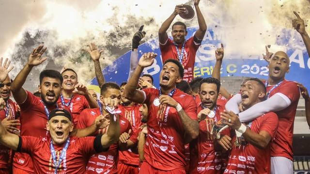 Vila Nova campeão da Série C 2020