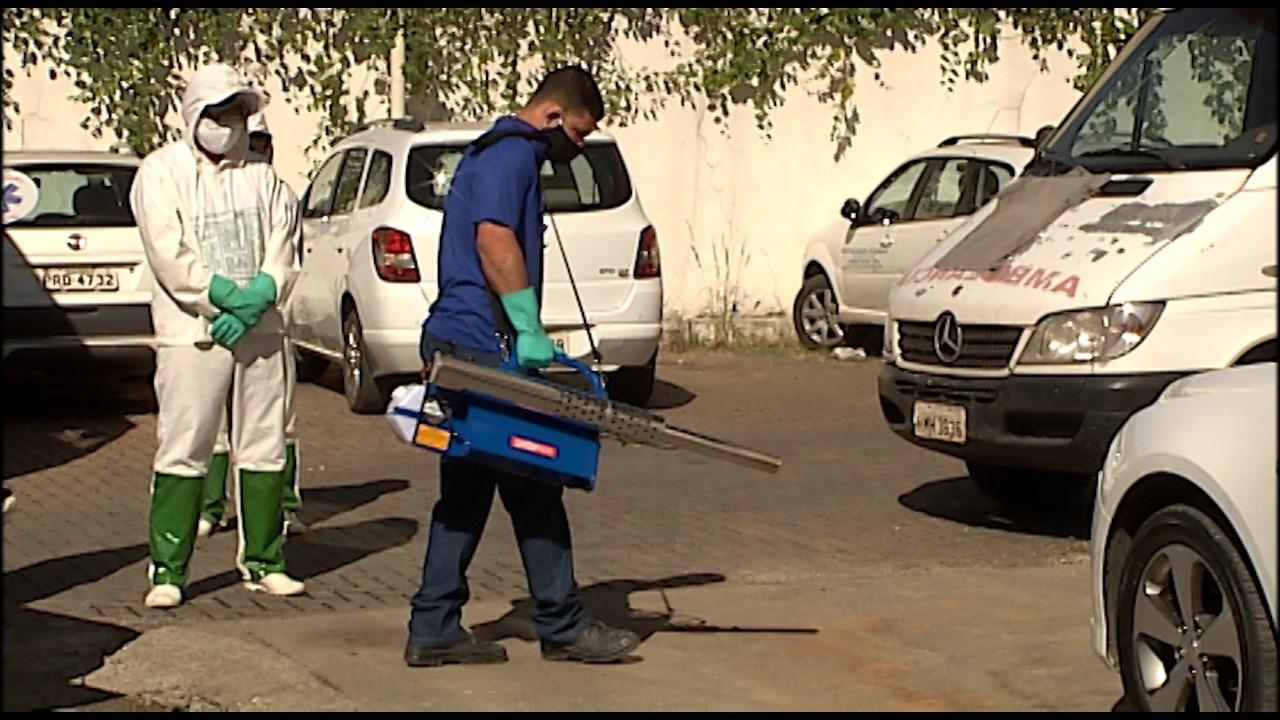 Equipamento para desinfecção de unidades de saúde começa a ser usado em Divinópolis