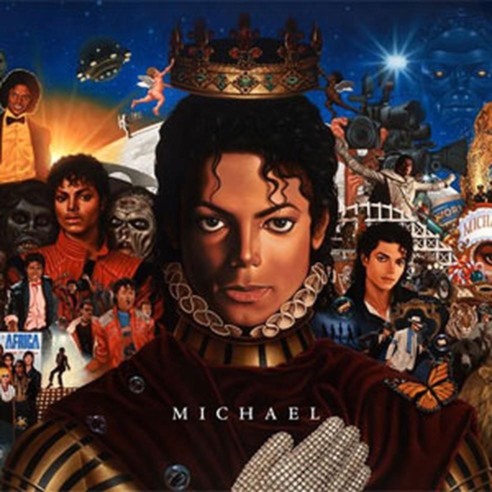 Capa do álbum 'Michael', que será lançado em dezembro de 2010 pela Sony (Foto: Divulgação)