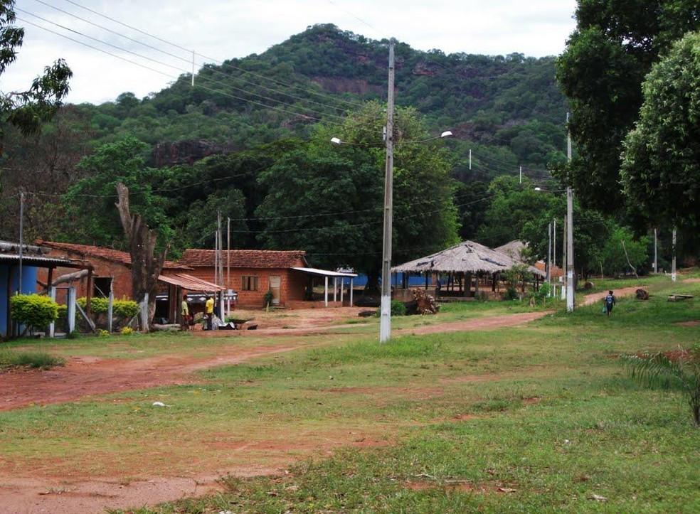 Aldeia Limão Verde em Aquidauana, região oeste do estado   Foto: Redes Sociais/Reprodução
