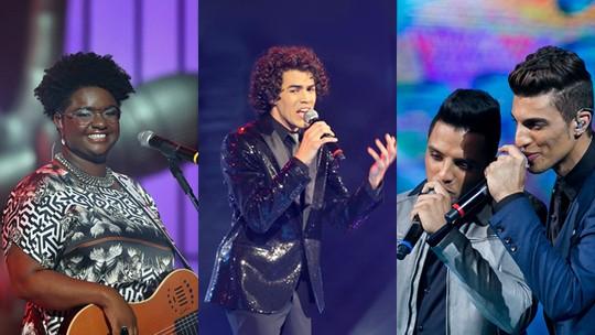 Reveja os shows emocionantes dos campeões do The Voice Brasil