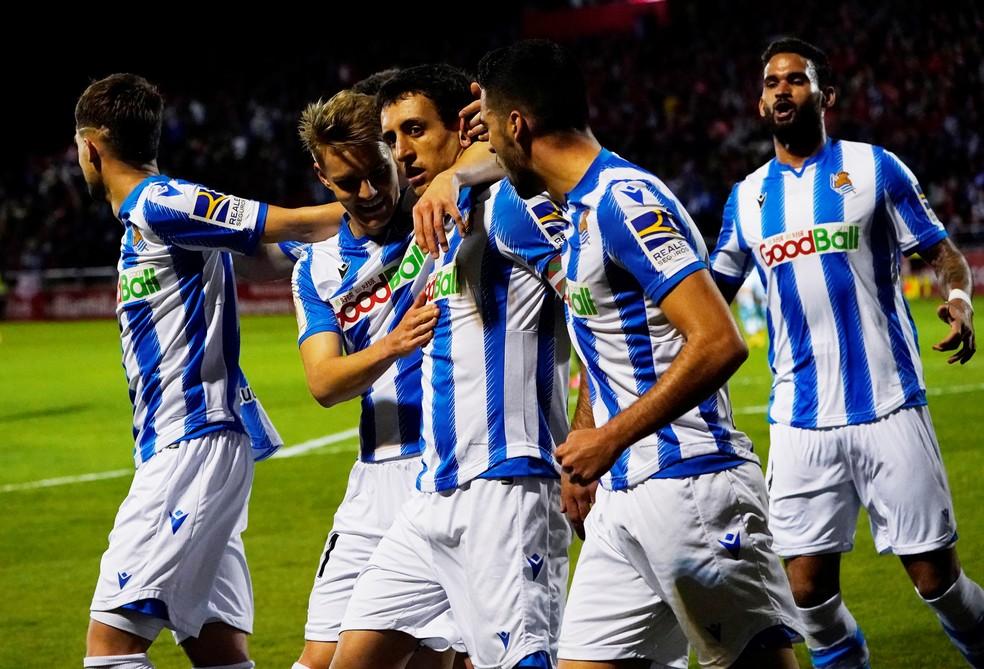Real Sociedad Vence O Mirand U00e9s Por 1 A 0 Fora De Casa E