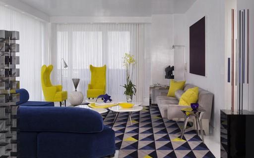 Apartamento Em Ny Tem Explosao De Cores Casa Vogue