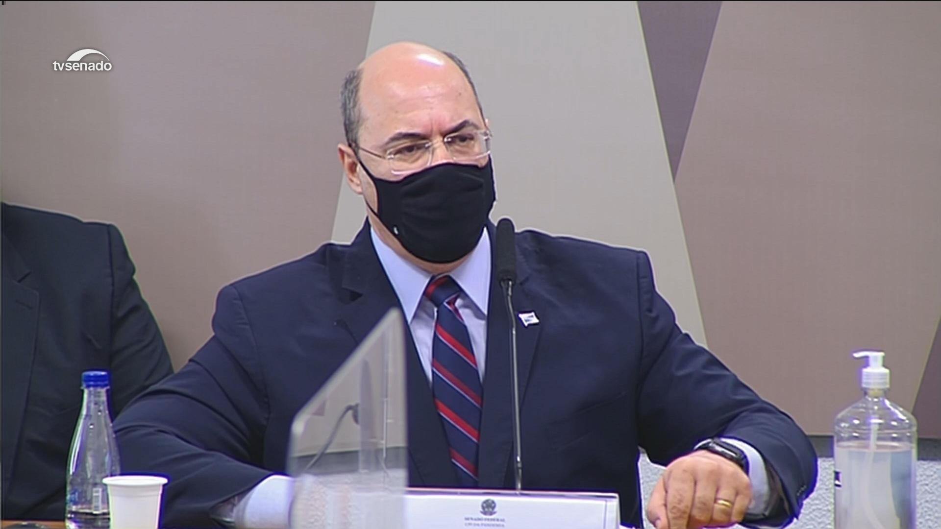 VÍDEOS: Wilson Witzel, ex-governador do RJ, depõe na CPI da Covid