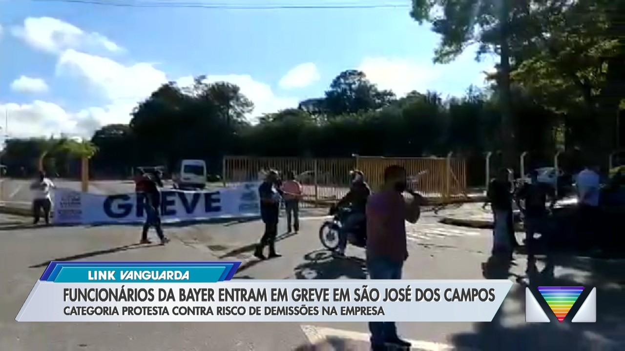 Funcionários da Bayer entram em greve em São José dos Campos