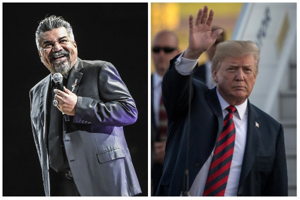 George Lopez e Donald Trump (Foto: Getty Images)