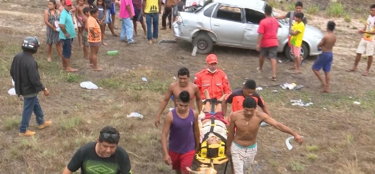 Cinco pessoas ficaram feridas em acidente na BR-316 no Maranhão  - Notícias - Plantão Diário