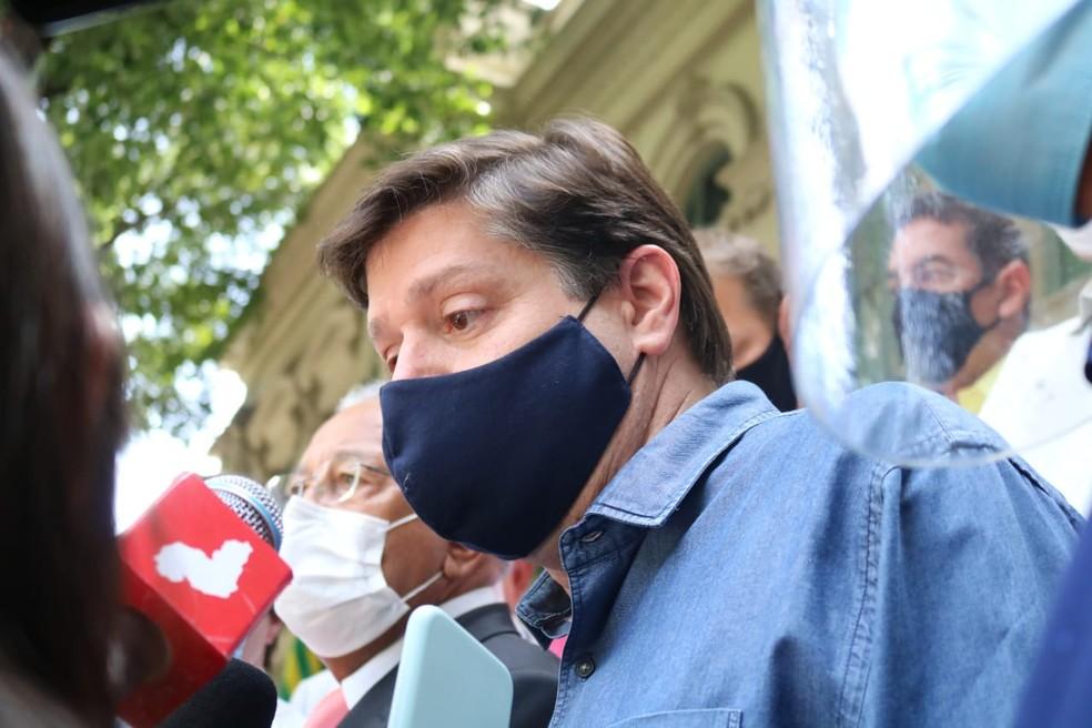 Baleia Rossi, deputado federal  e presidente nacional do MDB. — Foto: Naftaly Nascimento/G1 Piauí