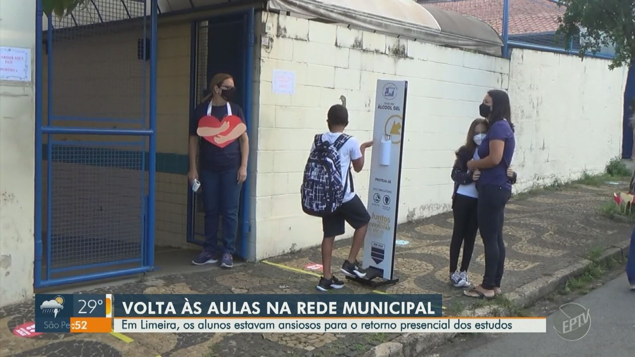 Rede Municipal de Ensino de Limeira tem retorno às aulas presenciais nesta segunda (15)