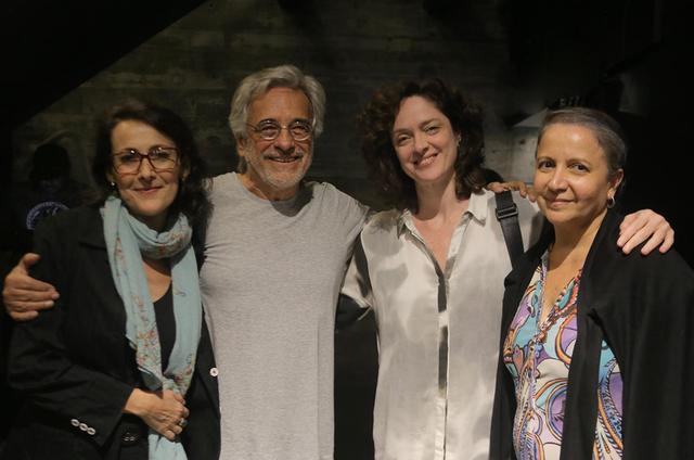 Ana Barroso, Aderbal Freire Filho, Bianca Byington e Vera Novello (Foto: Divulgação)