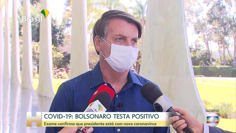 Exame de Bolsonaro para Covid-19 dá positivo e presidente diz que ...