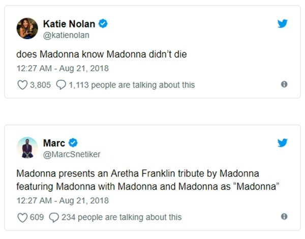 Madonna (Foto: Twitter)