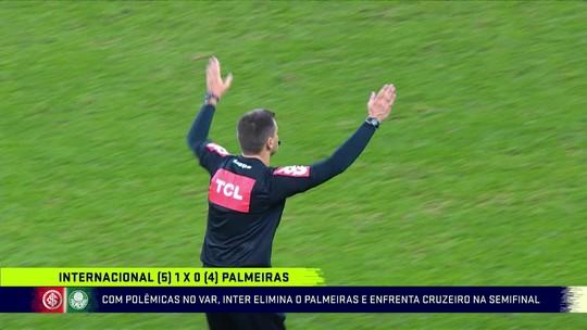 Veja a análise dos lances polêmicos de Inter x Palmeiras