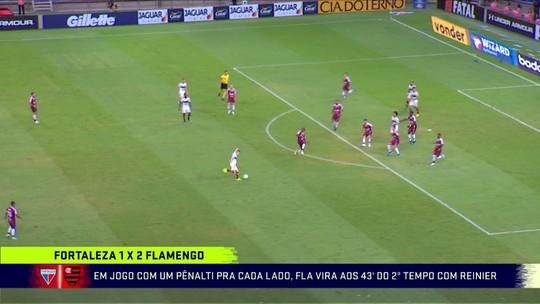 """Jornalista vê reservas do Fla dando conta, mas faz ressalva: """"Bruno Henrique faz muita falta"""""""