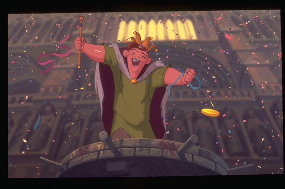Cena de 'O corcunda de Notre Dame', animação de 1996 — Foto: Divulgação