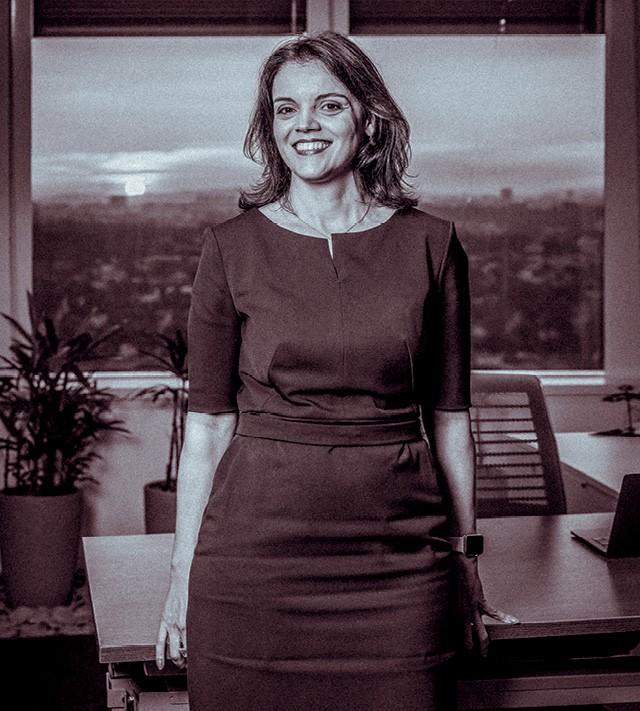 O aumento da presença feminina em cargos de liderança entra no cálculo do bônus de Ana Paula, CEO da IBM (Foto: Marcus Steinmeyer)