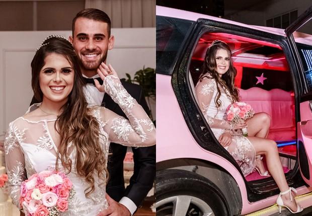 Felipe Vizeu e Mariana Linhares se casam (Foto: Ghuto Oliveira)