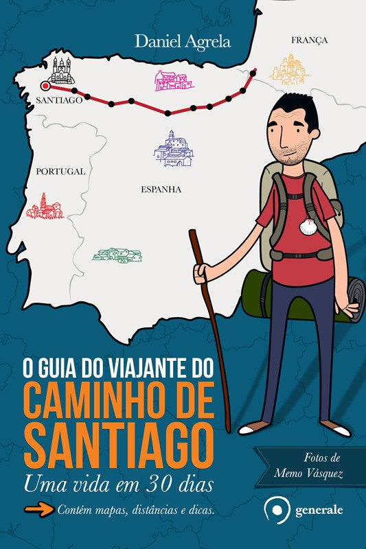 Capa do Guia do Viajante do Caminho de Santiago (Foto: Divulgação)