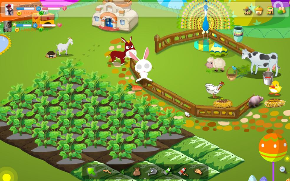 Colheita Feliz: um dos games mais famosos na época de Orkut — Foto: Reprodução/Orkut