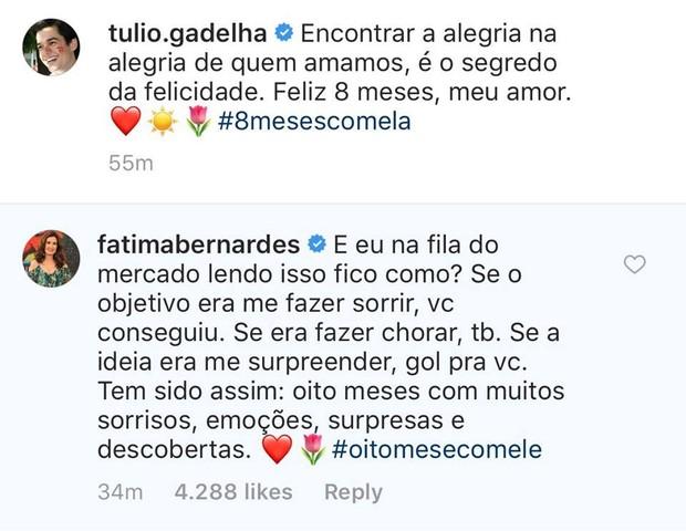 Post de Túlio Gadêlha (Foto: Reprodução / Instagram)