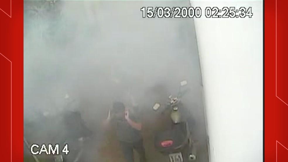 Explosão no banheiro da Prefeitura de Taubaté — Foto: Prefeitura ed Taubaté/Divulgação
