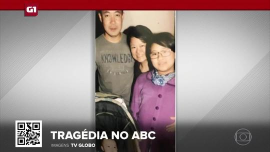 G1 em 1 Minuto: Corpos da família encontrada morta em Santo André são velados no ABC