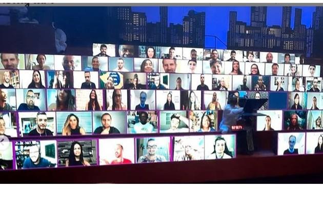 Uma plateia virtual substituirá o público na quinta temporada do programa do Multishow. A atração estreia dia 3 de novembro (Foto: Reprodução/Instagram)