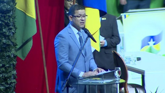Em discurso, novo governador de RO promete 'enxugar a máquina pública'