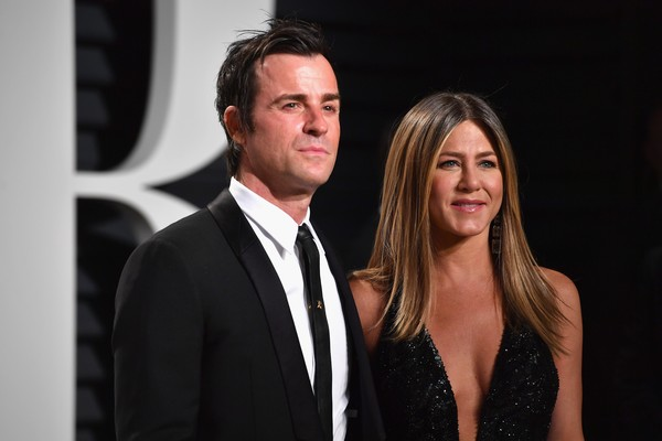 Jason Theroux e Jennifer Aniston (Foto: Getty Images)