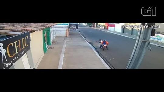 Gerente de casa lotérica é perseguido por assaltantes e tem mochila com dinheiro roubada